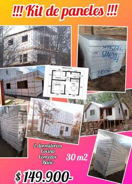 Kit de paneles para viviendas