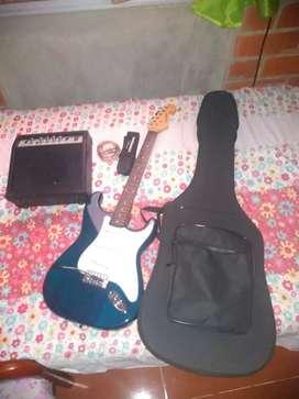 Guitarra electrica en excelentes condiciones