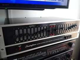 Ecualizador soundcraftsmen Made in usa sansui technics kenwood Marantz teac denon Pioneer onkyo Yamaha peavy Sony