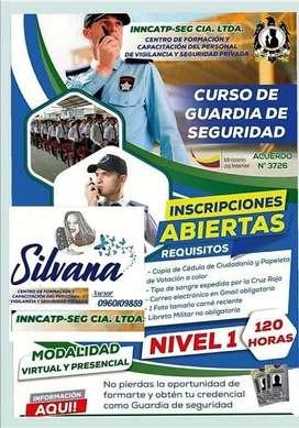 Curso de Guardias de Seguridad 100% online en Sucumbios