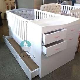 Hermosa cama cuna a la venta