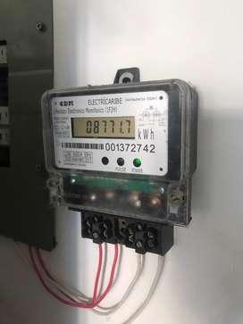 medidor electronico monofasico