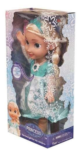 Elsa Muñeca Frozen Canta Español Inglés