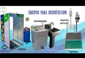 Tapetes, soportes y lavamanos