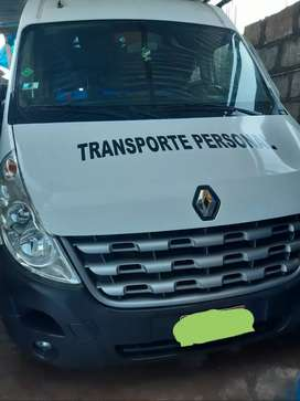 Vendo minivan Renault master