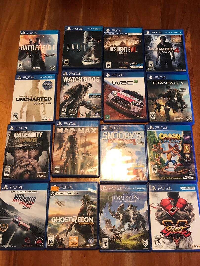 Lote de juegos PS4 0