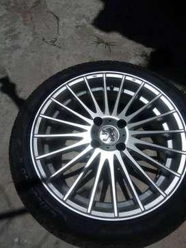 """Llantas deportivas originales""""17 Citroen/Peugeot/ford"""