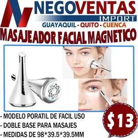 MASAJEADOR FACIAL MAGNETICO EN DESCUENTO EXCLUSIVO DE NEGOVENTAS