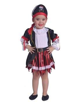 Espectacular Disfraz Pirata baby incluye el envío