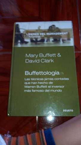 Libro sobre administración e inversiones, Bufetoogía