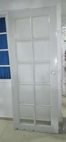 Puertas en pvc y vidrio