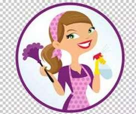 Busco trabajo de cocina  y limpiar casa