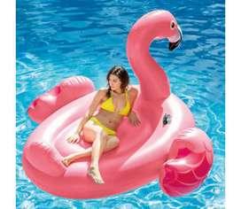 Flotador flamenco inflable gigante