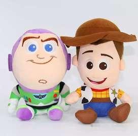 Peluche para niños de toy story woody y buzz
