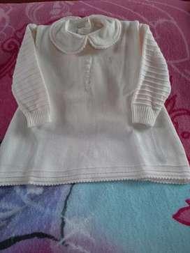 Conjunto vestido y chompa