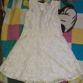 Short y vestido