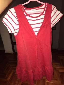Vestido rojo CHEKY