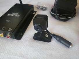 Mini Camara Inhalambrica 100 Mts Audio Y Color
