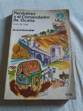 PERIBAÑEZ Y EL COMENDADOR DE OCAÑA LOPE DE VEGA . LIBRO LIT ESPAÑOLA