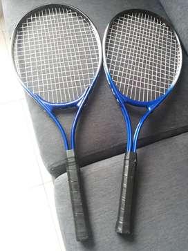 Hermosas raquetas de tenis