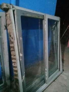 Ventanal algarrobo vidriado acepto targetas