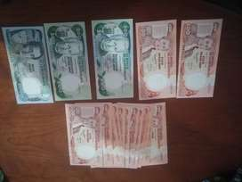 18 Billetes antiguos