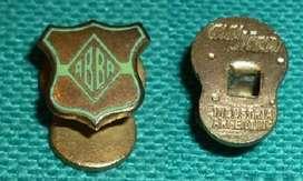 Antiguo Pin Distintivo ABBA . Asociacion de Basquet de Buenos Aires 1950s