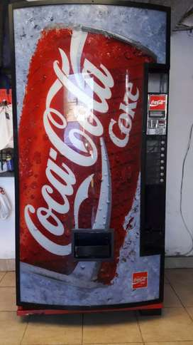 Maquina Expendedora Coca Cola Vending