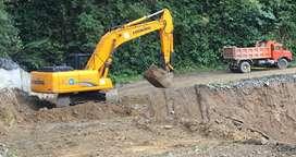 Excavadoras para desbanques, movimiento tierras, desalojos, construccion, explotacion material