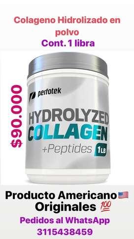 Vendo colageno hidrolizado en polvo, producto americano
