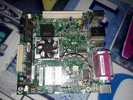 Board ddr2 intel 2gb RAM
