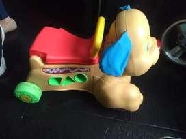 Vendo caminador o andador de perrito marca ficher price