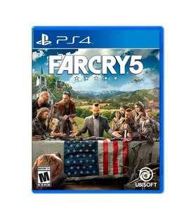 Far Cry 5 Ps4 Usado Fisico En Excelente Estado