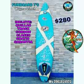 Tabla de Surf 7'8 Funboard