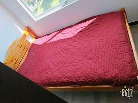 Vendo cama colchón varata