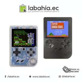 Mini Consola Portable con Juegos Clasicos Mario Bros Sonic