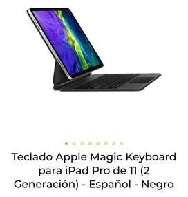 "Combo: Ipad Pro Chip m1 2021 11"" 128gb + Teclado Magic Keyboard + Adaptador Satechi"