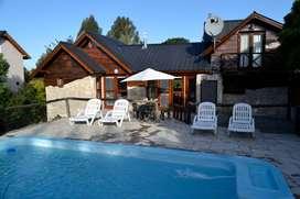 Alquiler Sierra de los Padres cabaña con piscina5