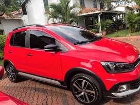 Volkswagen Fox Xtreme 2019 Rojo Tornado 1.600 Único dueño