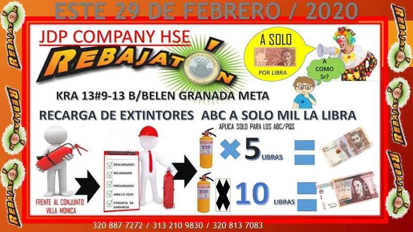 RECARGA DE EXTINTORES EN GRANADA META 0