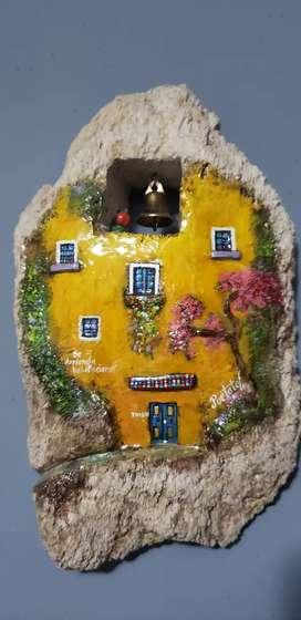 Coleccion de casas en piedra hechas en España traídas de pamplona .arte .