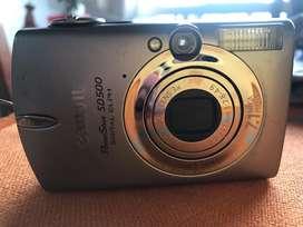 Càmara Canon Power Shot  Digital SD 500 7,1 Mega pixeles