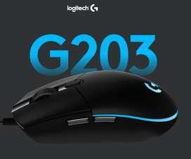 Logitech Gaming Mouse G203 Prodigy - Ratón - diestro