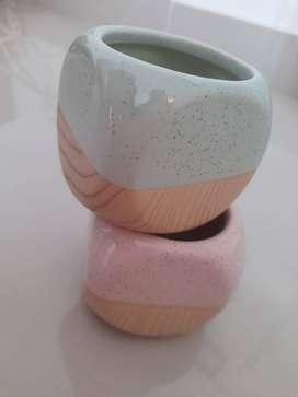 Ceramicas 7.5×7.5×6.3cm