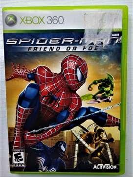 CD Para juego Xbox360 Spider Man Friend or Foe