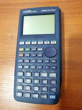 Calculadora Casio Álgebra Fx 2.0 Plus