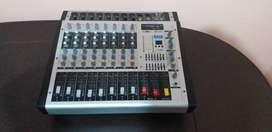 Consola amplificada mezcladora de Audio EON 8canales