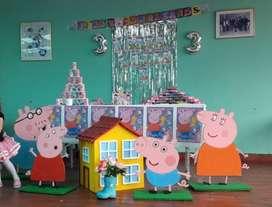 Hermosa Decoración Peppa Pig