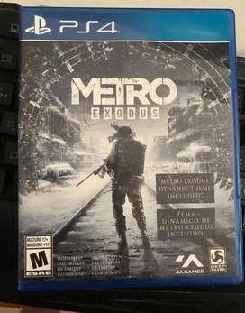 Metro Exodus con Codigo Y Poster