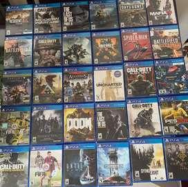 Videojuegos de PS4